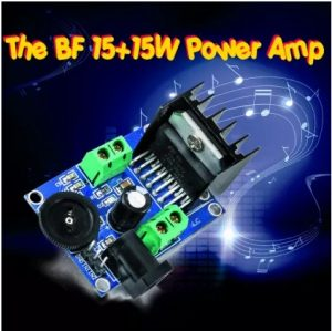 The BF 15+15W open source power amp
