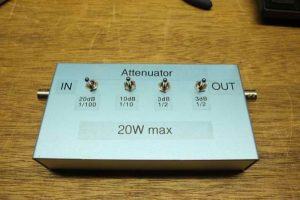 36dB power attenuator for 20W