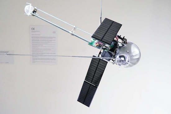 The Orbitalochka is a solar-powered satellite synth