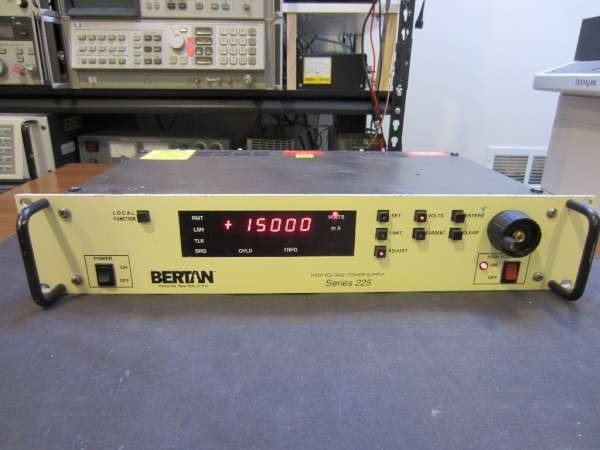 Bertan/Spellman 225-20R HV power supply teardown