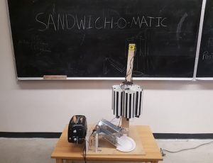 The Sandwich-o-Matic will make your lunch automatically
