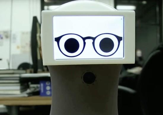 Peeqo is a desktop bot that communicates through GIFs