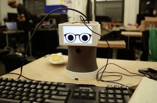 Peeqo is a desktop bot that communicates through GIFs 3