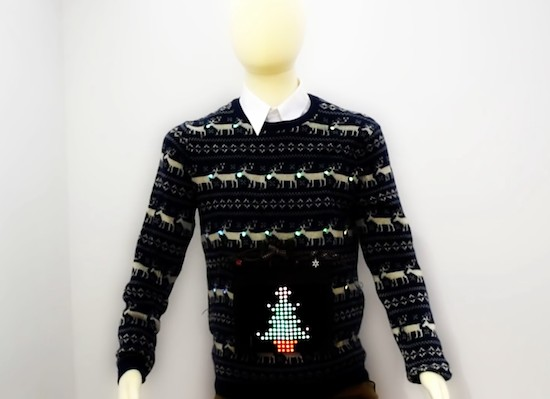 Create the ultimate Christmas jumper with Arduino