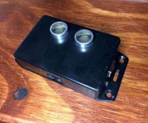 Ultrasonic parking sensor