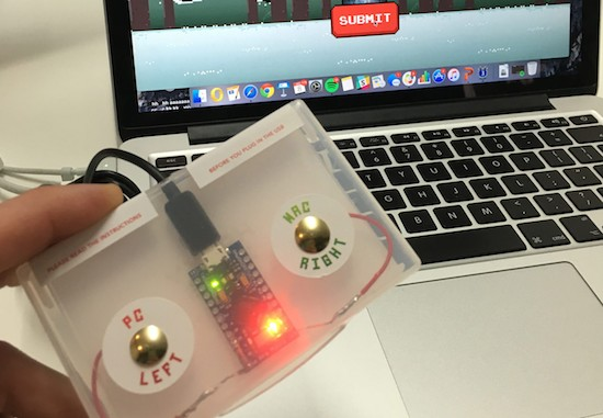 An Arduino-powered Christmas card game controller 3