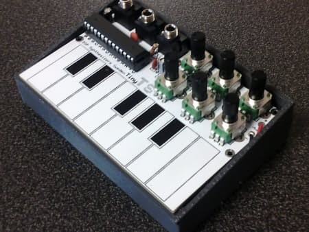 Tiny-TS: An open-source DIY touch synthesizer