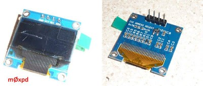 OLED Display on the ESP8266 Beacon