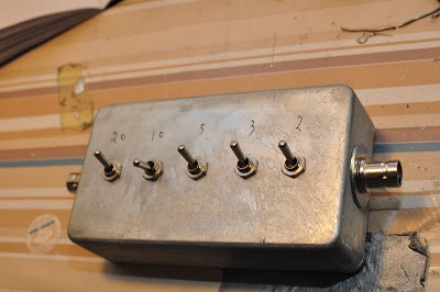 Homebrew 40dB step attenuator