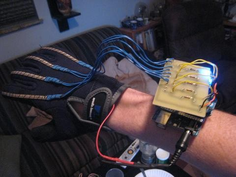 Wireless Animatronics Hand