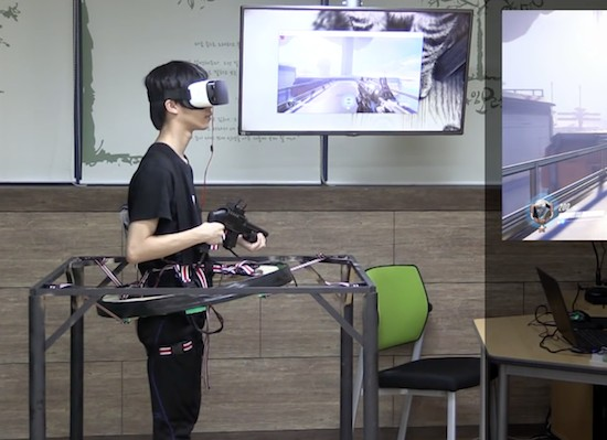 These students created their own Overwatch VR rig