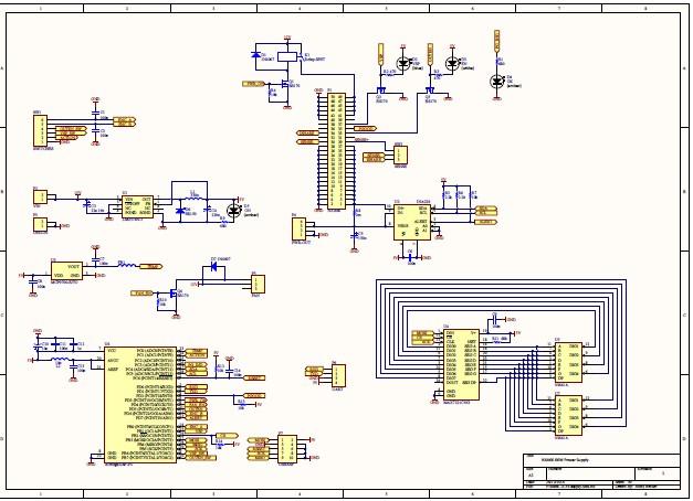 A high current power supply built around a server voltage regulator 3