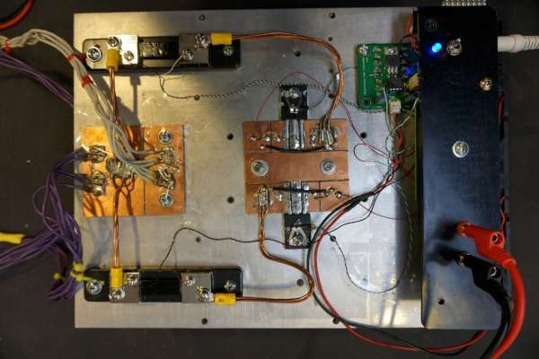 A 400W (1kW Peak) 100A electronic load using linear MOSFETs
