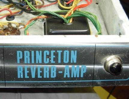 1968 Princeton Reverb Repairs