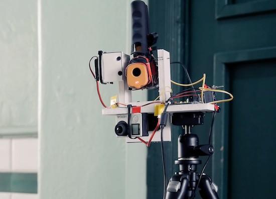 IR thermometer hacked into an IR camera