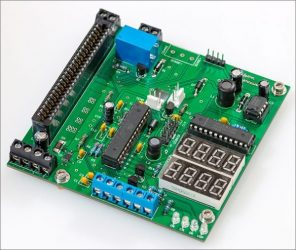 A high current power supply built around a server voltage regulator