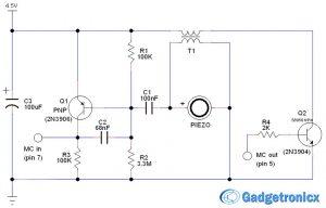 Door/Window alarm circuit