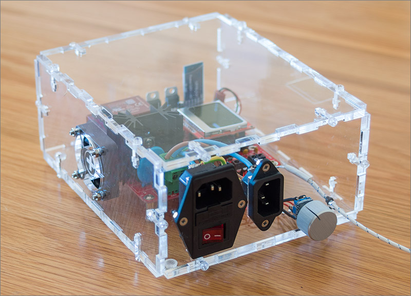 A Custom Enclosure for the Android Bluetooth Reflow Controller