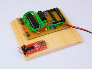 First Project with WireFrame FPGA Board LED Blinking Test