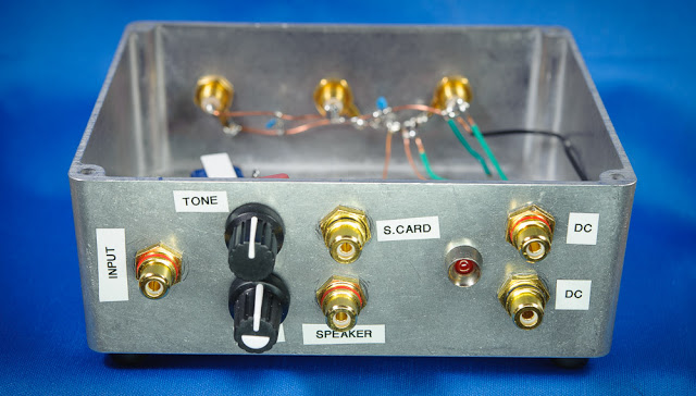 AF amplifier plus line out — Jupiter Modular Receiver
