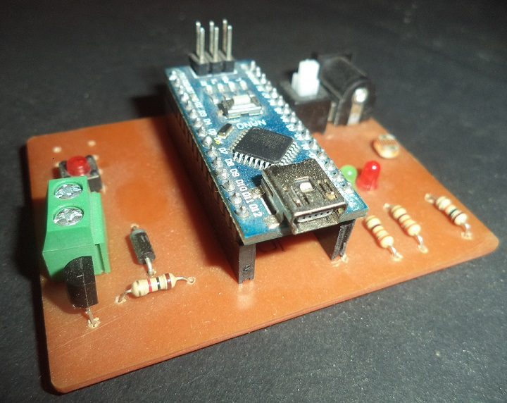 Auto Intensity Control Of Street Light Using Arduino