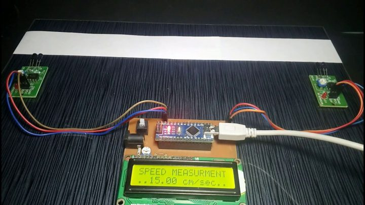 Car Speed Detector Using Arduino