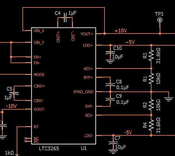 Designing a Charge-Pump Bipolar Power Supply
