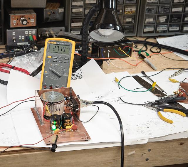 Clean Jazz Guitar Amp Builder Notes — Part 1:  DC Power Supply 15