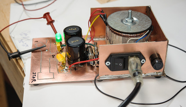 Clean Jazz Guitar Amp Builder Notes — Part 1: DC Power Supply