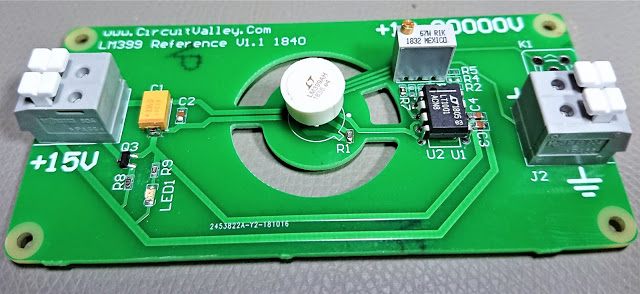 DIY Open Source LM399 10V Voltage Reference, Second Revision 9
