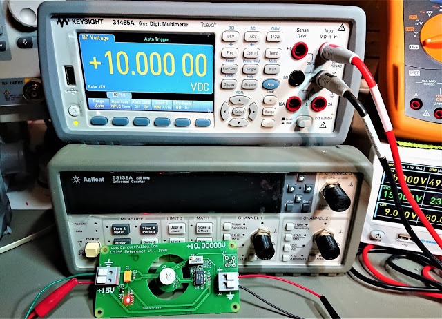 DIY Open Source LM399 10V Voltage Reference, Second Revision 11