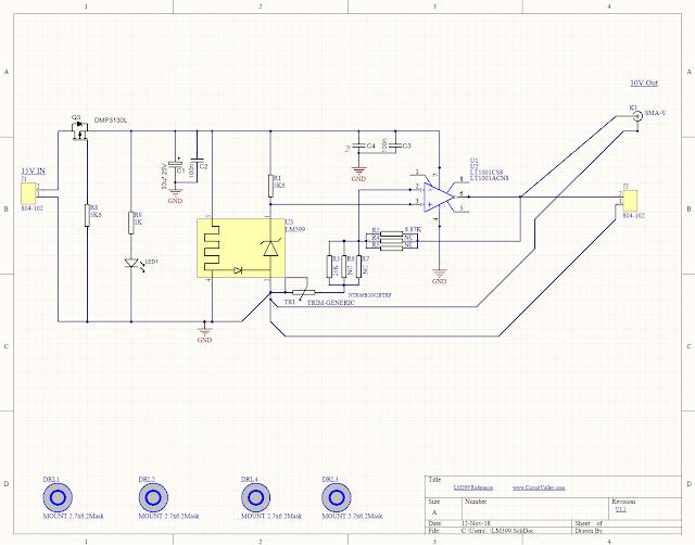 DIY Open Source LM399 10V Voltage Reference, Second Revision 12