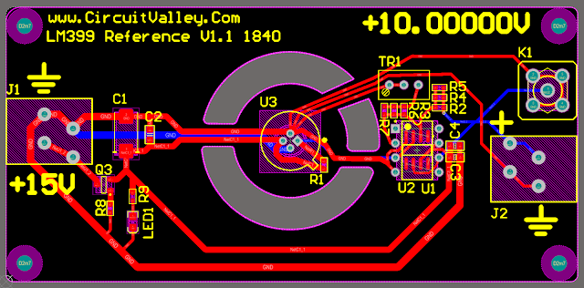 DIY Open Source LM399 10V Voltage Reference, Second Revision 13