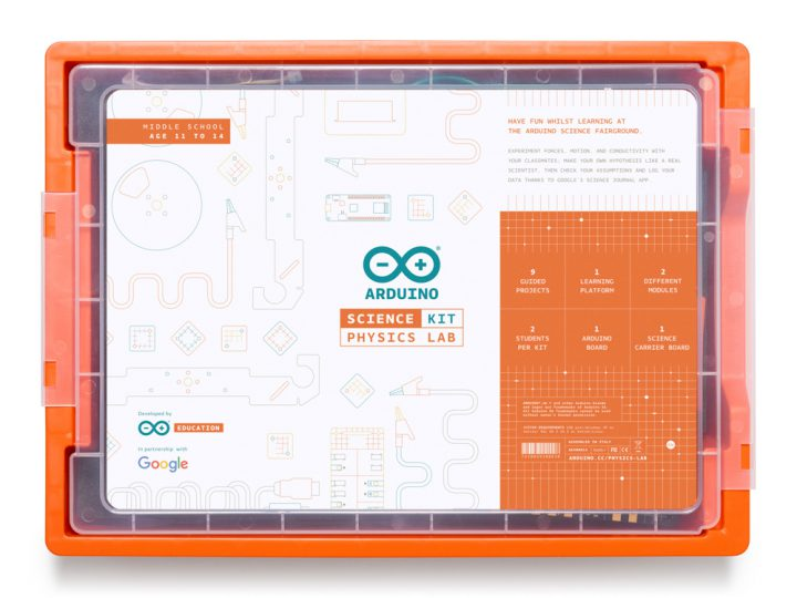 Arduino and Google launch new Arduino Education Science Kit!
