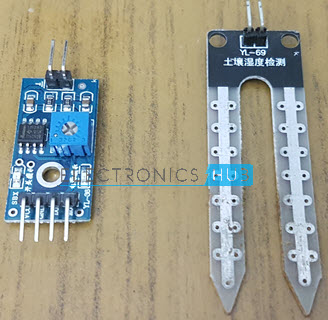 Interfacing Soil Moisture Sensor with Arduino Sensor 3
