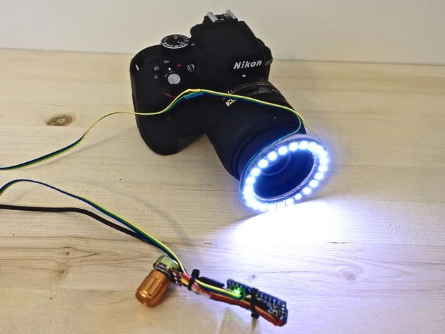 Build Your Own LED Photography Ring Light