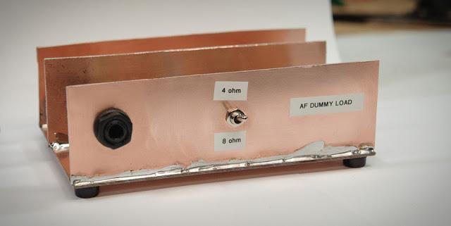 AF Power Amplifier Dummy Load