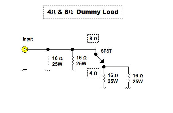 AF Power Amplifier Dummy Load 17