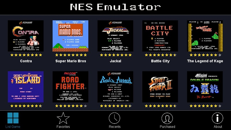 NES Emulator for Android