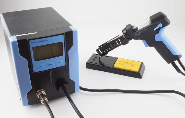 Review and use of: Katsu ZD-8915 Desoldering Station
