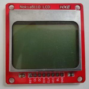 Interface Nokia 5110 LCD and Raspberry Pi – Python 17