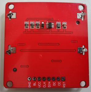 Interface Nokia 5110 LCD and Raspberry Pi – Python 18