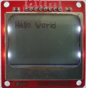 Interface Nokia 5110 LCD and Raspberry Pi – Python 26