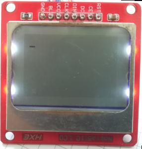 Interface Nokia 5110 LCD and Raspberry Pi – Python 27