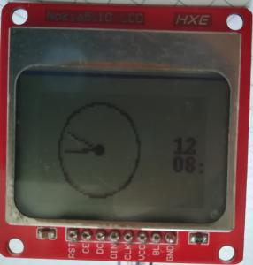 Interface Nokia 5110 LCD and Raspberry Pi – Python 30