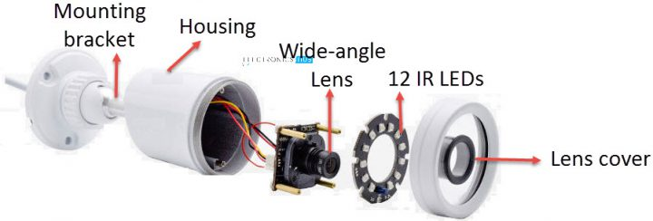 Simple DIY IR Illuminator (Infrared) Circuit