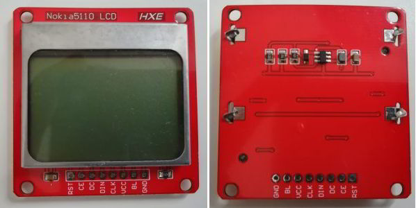 Interface Nokia 5110 LCD and Raspberry Pi – Python