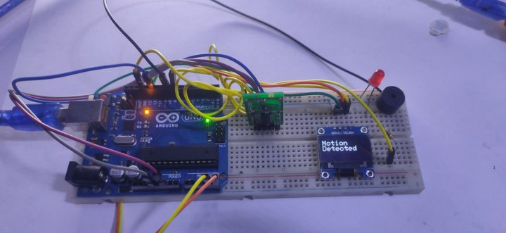 Build a Thief Detector using an Arduino UNO and a RCWL-0516 Microwave Proximity Sensor