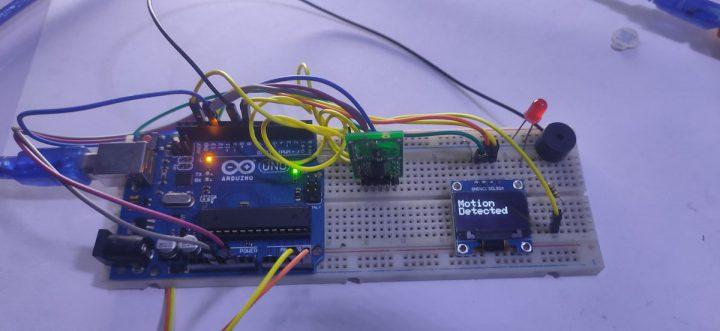 Build a Thief Detector using an Arduino UNO and a RCWL-0516 Microwave Proximity Sensor