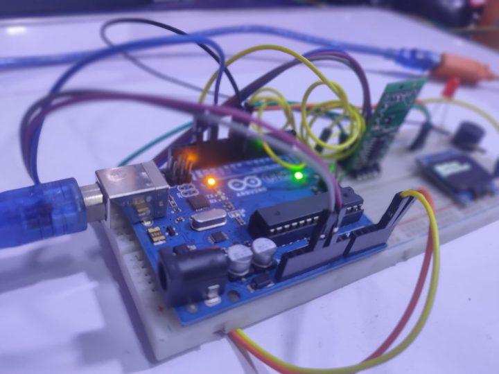 Build a Thief Detector using an Arduino UNO and a RCWL-0516 Microwave Proximity Sensor 24